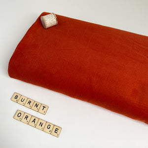 Sew Delicious Emma Cord Burnt Orange