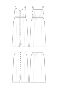 Cashmerette Holyoke Maxi Dress & Skirt Pattern