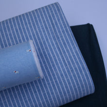 Chambray Stripe Tencel
