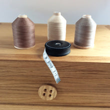 Button Oak Sewing Thread Cabinets