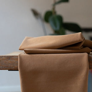 Soft Stretch Twill by meetMILK Mustard
