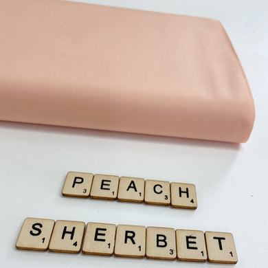 Ziva Cotton Poplin Peach Sherbet