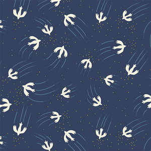 Dashwood Altitude Collection Alpine Birdie Cotton Jersey Fabric