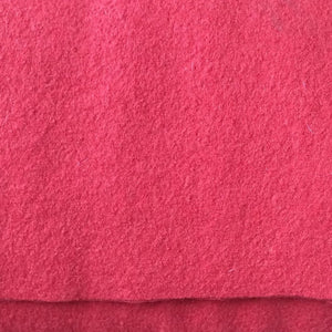 Geranium Red Pure Boiled Wool