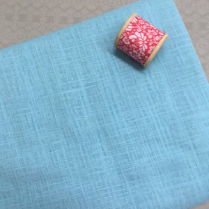 Piper Viscose Linen Dressmaking Fabric Pale Blue 1.1m