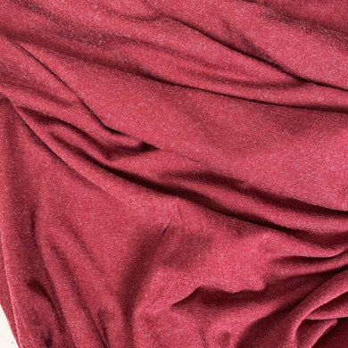 Heather Viscose Jersey Fabric Russet 1.1m