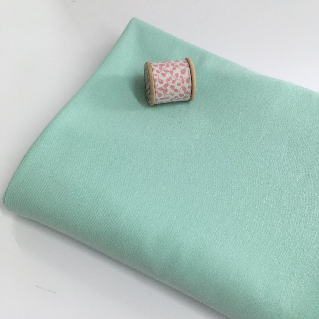Mint Ice Harper Jersey Knit Fabric -0.7m