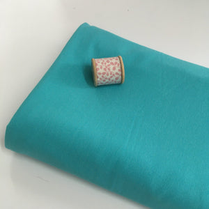 Turquoise Harper Jersey Knit Fabric -0.7m