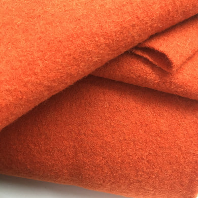 New Outrageous Orange Pure Boiled Wool