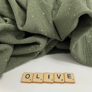 Olivia Double Gauze Fabric