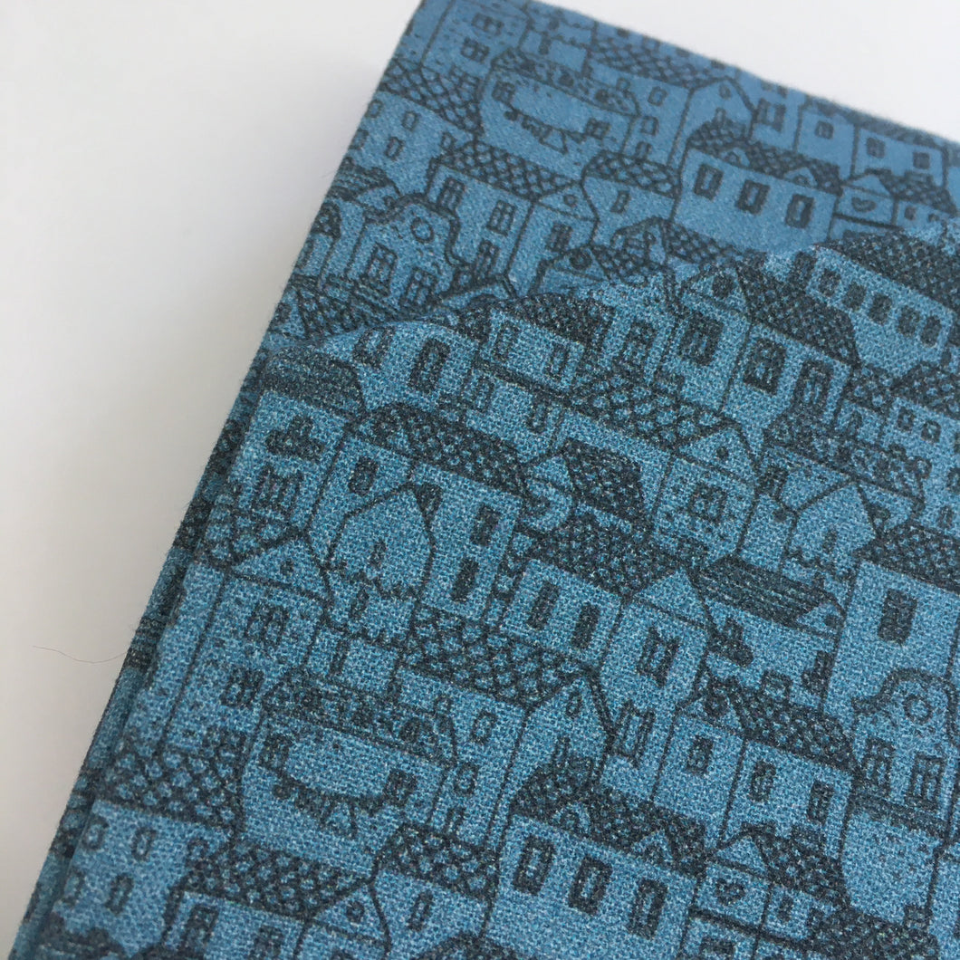 Little Town Cotton Percal Print