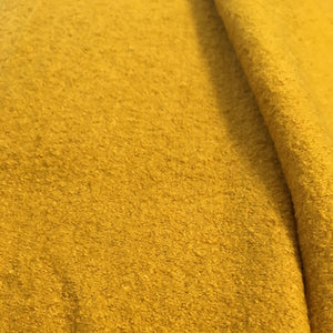 Mustard Boiled Wool Viscose Blend
