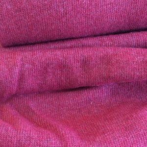Cherry Red Cashmere Blend Wool Sweater Knit