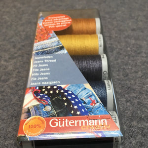 Gutermann Jeans Sew All Thread Set