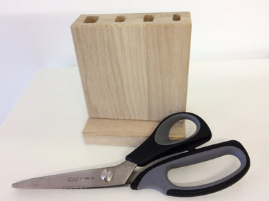 Oak Scissor Storage Block