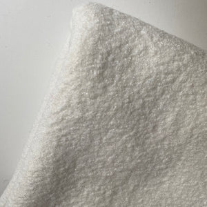 Sarah Boiled Wool Viscose Blend Winter White  0.9cm