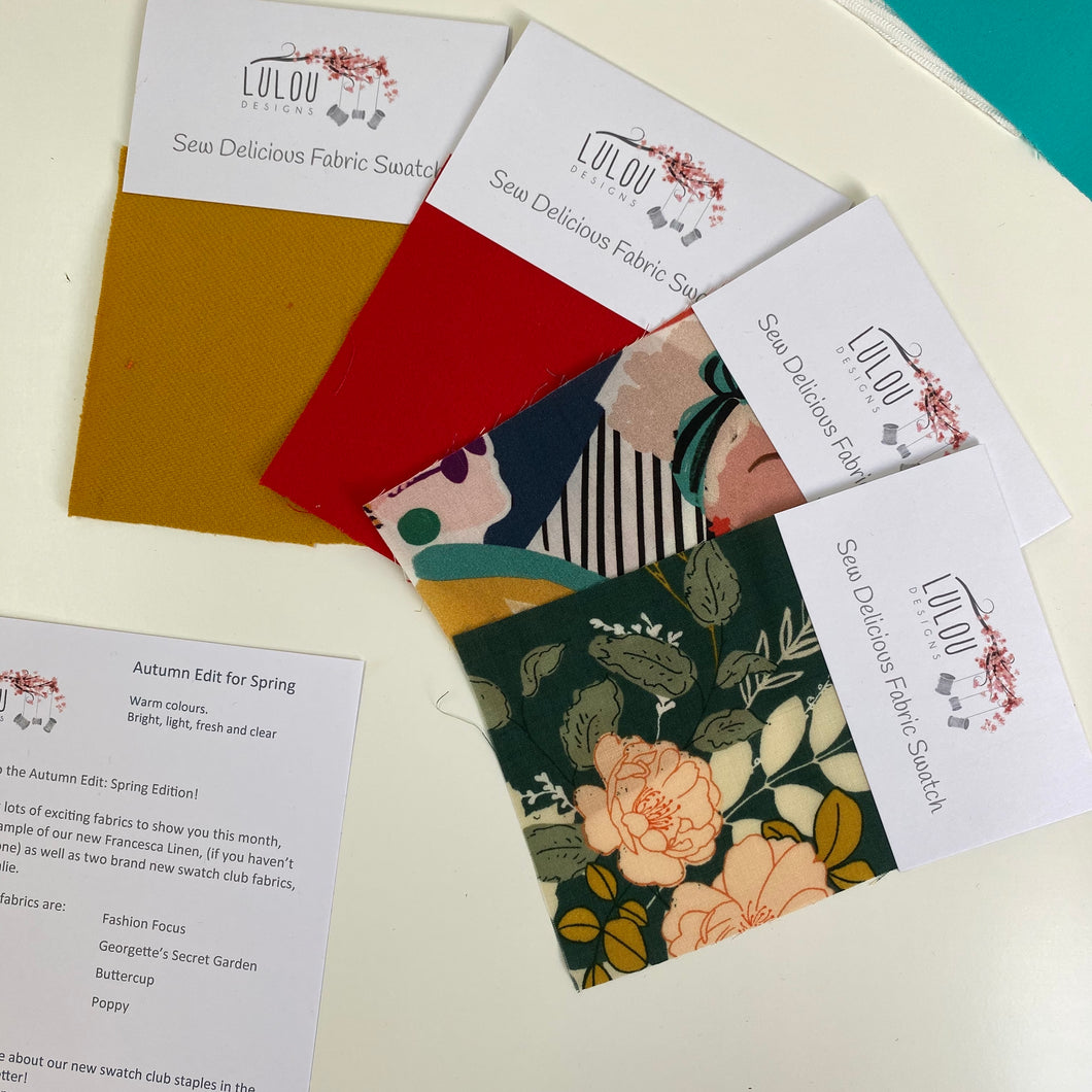 Sew Delicious Swatch Club Annual Membership Renewal