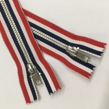 Stripe Tape Non-Separating  Zipper 20cm