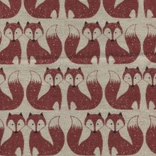 Dashwood Chalk Hill Fox Linen Cotton Print
