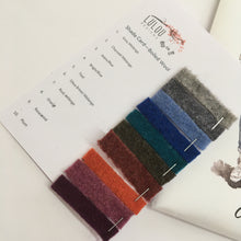 Kate Boiled Wool Colour Card
