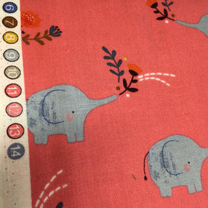 Dashwood Meadow Safari Elephant  Cotton
