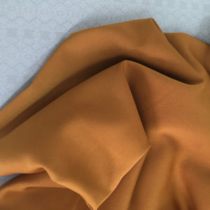 Sew Delicious Swatch Club Grace Crepe Ochre
