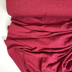 Heather Viscose Jersey Fabric Russet