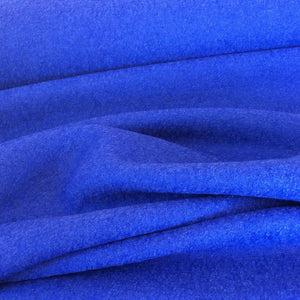 Jeans Blue Boiled Wool Viscose Blend