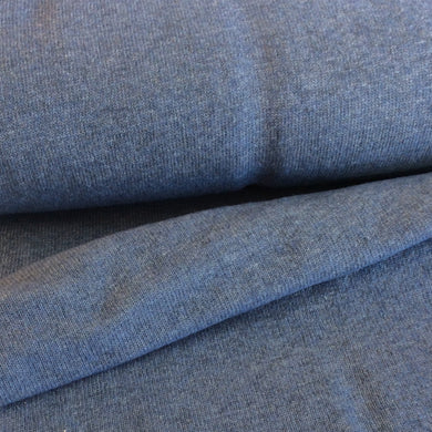 Jeans Blue Cashmere Blend Wool Sweater Knit