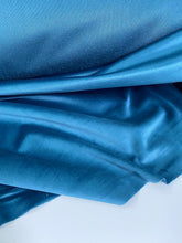 French Velvet  La Tissu by Domotex Petrol