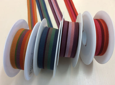 Stripe Grosgrain Petersham Braid 25mm