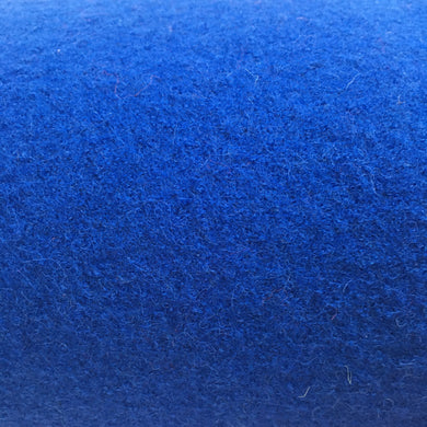 New Electric Blue Pure Boiled Wool