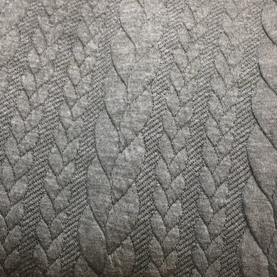 Sage Cable Knit Jersey