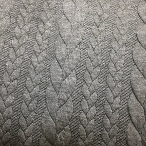 Lightweight Cable Knit Jersey