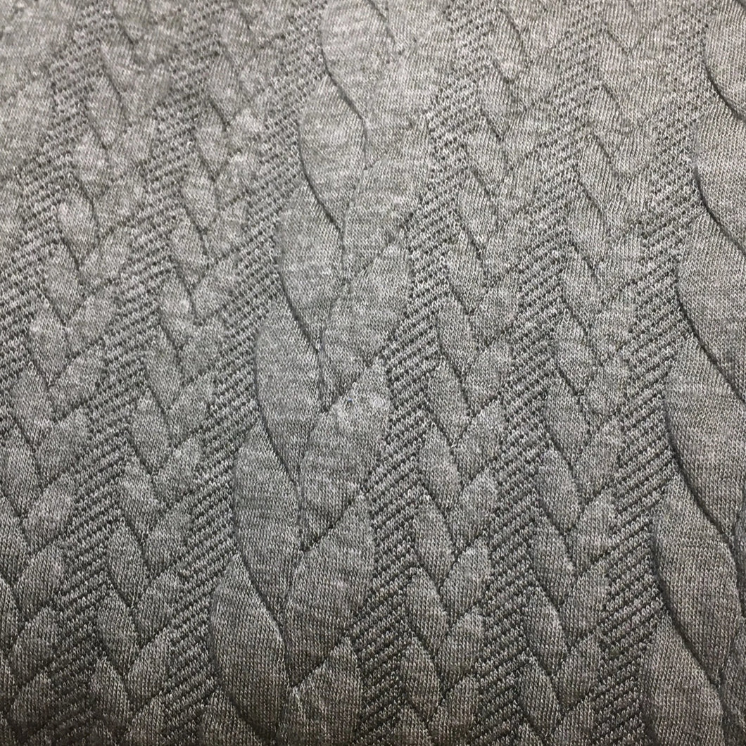 Cable Knit Jersey Sage Green