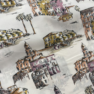 Lady McElroy Italian Holidays Cotton Lawn