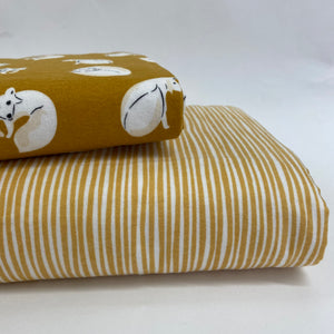 Cloud 9 Northerly Organic Cotton Flannel Gold Straws