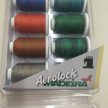 Maderia Aerolock Variegated Overlocker Thread Set