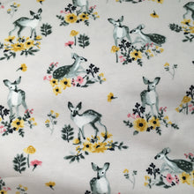 Doe a Deer Organic Cotton Jersey Fabric