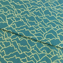Dashwood Altitude Collection Teal Mountains