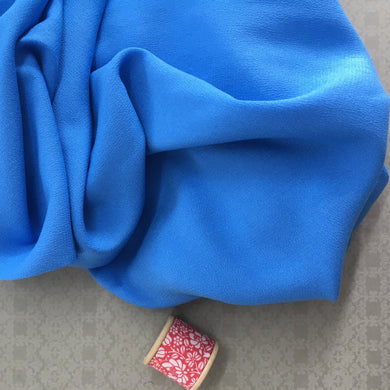 Audrey Viscose Crepe Bluebell 2.2m