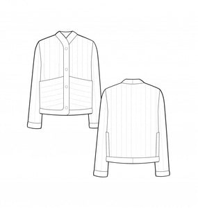 Pauline Alice Ayora Jacket Pattern