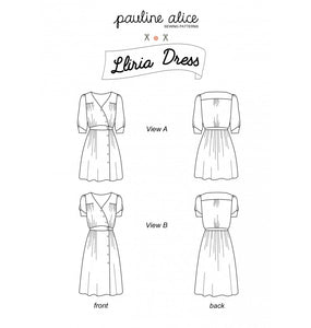 Pauline Alice Lliria Dress Pattern