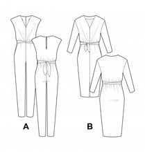 Pauline Alice Mila Jumpsuit  Dress Pattern