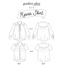 Pauline Alice Reina Shirt Pattern