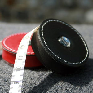 Sew Delicious Retractable Leather Tape Measures