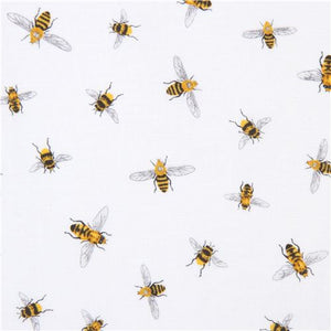 Robert Kaufman Bees Cotton Print