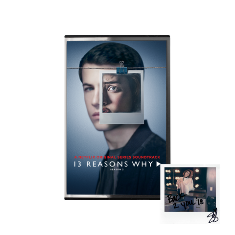 13 Reasons Why Season 2 Official Soundtrack Cassette + Digital Album
