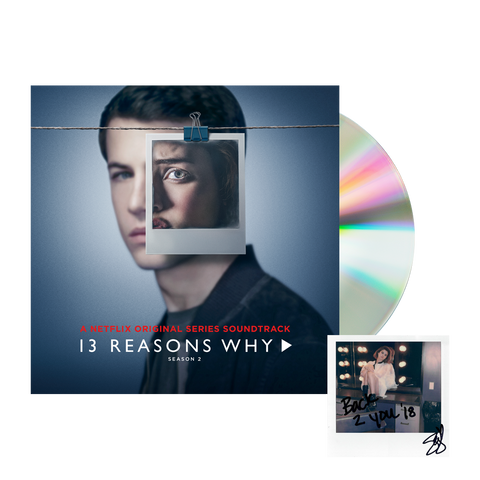13 Reasons Why Season 2 Official Soundtrack CD + Digital Album