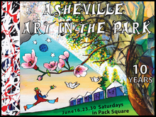 Asheville Art in the Park 2018 Short-Sleeve Unisex T-Shirt